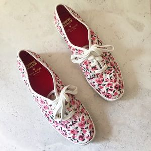 Keds x Kate Spade floral snickers
